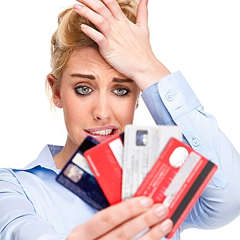 Get rid of credit card debt